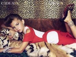 Zdjęcia 6-letnich dziewczynek w Vogue - reklamodawcy wycofują się