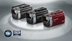 Panasonic SDR-H100, SDR-T70 i SDR-S70 - nowe kamery SD