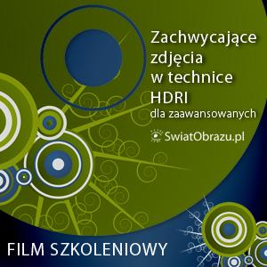 Zachwycające zdjęcia w technice HDRI dla zaawansowanych - film szkoleniowy