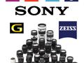 Oznaczenia obiektywów Sony