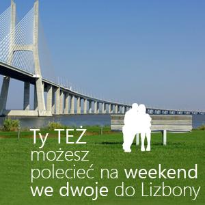Poleć artykuł i poleć na weekend do Lizbony - gratulujemy Zwycięzcom VIII edycji tygodniowej