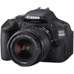 Canon EOS 600D - młodszy brat Canona EOS 60D