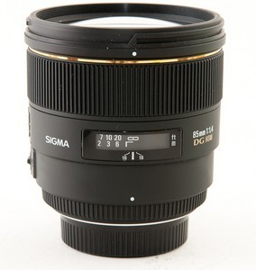 Sigma 85 F1.4 EX DG HSM - test