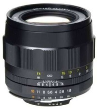 Voigtlander SL II Heliar Classic 75 mm f/1.8