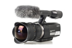 Samyang 8 mm f/3.5 Fish-eye CS VG10 dla kamery Sony NEX-VG10