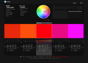 Poradnik Adobe Photoshop CS5 Extended - Kuler i usługi interaktywne CSlive, cz. I