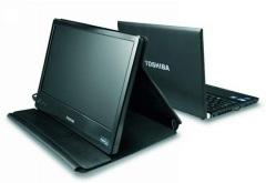 Przenośny monitor Toshiba - 14 cali zasilane przez USB