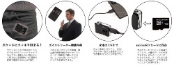 Miniaturowy aparat z ośmioma megapikselami i nagrywaniem w HD