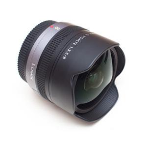 Panasonic Lumix G Fisheye 8mm F3.5 - test obiektywu