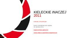 Kieleckie Inaczej 2011 - konkurs fotograficzny