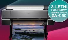 CoverPlus - wydłużona gwarancja na wielkoformatowe drukarki Epson