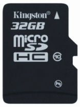 Karty Kingston microSDHC klasy dziesiątej - nowe pojemności