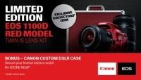 Canon EOS 1100D w czerwonej szacie
