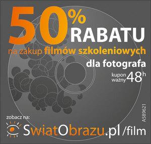 Odbierz kupony rabatowe w Krakowie, Katowicach, Łodzi i Warszawie.