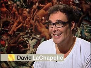 Amerykański fotograf David LaChapelle w CNN International