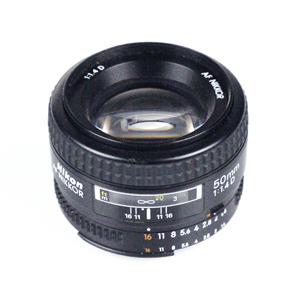 AF Nikkor 50mm f/1.4D - test obiektywu
