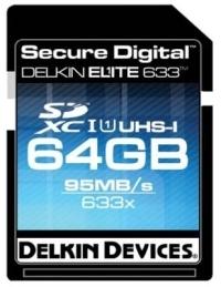 Delkin Elite 633X - nowe karty SDXC