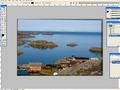 Adobe Photoshop dla początkujących - prostowanie horyzontu