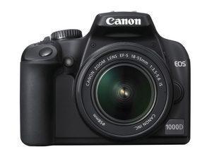 Wciąż na fali: Canon EOS 1000D
