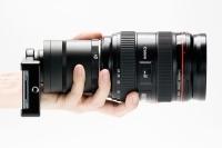 iPhone z obiektywami Canona i Nikona