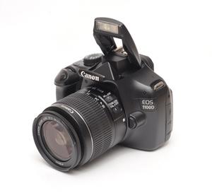 Canon EOS 1100D - test lustrzanki - Budowa i wygląd