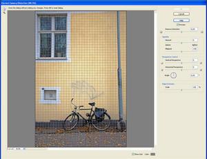 Adobe Photoshop Elements 9: Korekta zniekształceń geometrycznych