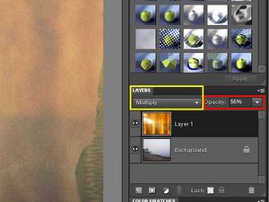 Adobe Photoshop Elements 9: Dodawanie faktury