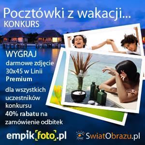"""Konkurs Fotograficzny """"Pocztówki z wakacji"""""""