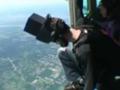 Wielkoformatowe fotografowanie ze spadochronem