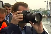 Jakie zdjęcia robi Dmitrij Miedwiediew?