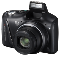 Canon PowerShot SX150 IS - kieszonkowy superzoom z trybami PASM