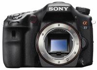 Sony SLT-A77 - następca A700 oficjalnie