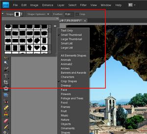 Adobe Photoshop Elements 9: Ramki specjalne