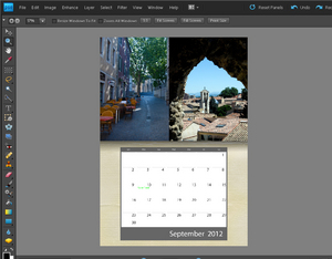 Adobe Photoshop Elements 9: Tworzenie kalendarza