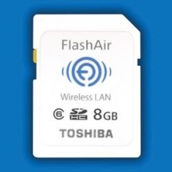 Toshiba wprowadza karty SD współpracujące z Wi-Fi