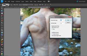 Adobe Photoshop Elements 9: Dodawanie tatuażu