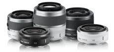 Nikon 1 - systemowe obiektywy