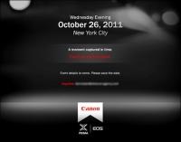 Canon zapowiada kolejną premierę