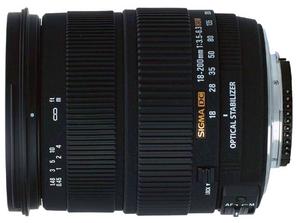 Wciąż na fali: Sigma 18-200 mm f/3.5-6.3 DC OS