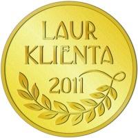 Złoty Laur Klienta 2011 dla projektorów BenQ
