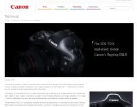 Canon EOS-1D X - dwanaście stron szczegółowego opisu