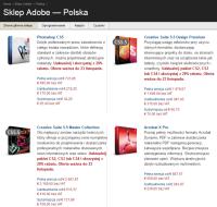 Internetowy sklep Adobe nareszcie po polsku