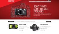 Pentax ma nową stronę. Właściwie to trzy nowe strony