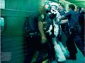 Steven Meisel i sesja w metro