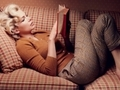 Michelle Williams jako Marilyn Monroe. Fotografuje Annie Leibovitz