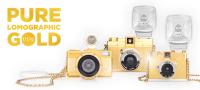 Lomography prezentuje aparaty skąpane złotem