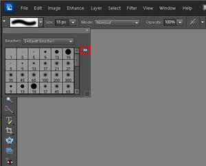 Adobe Photoshop Elements 10: Dodawanie nowych pędzli