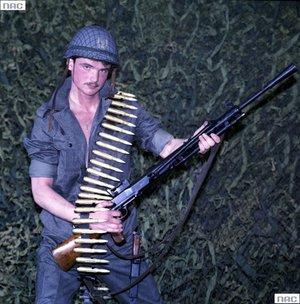 Reklama wojska polskiego z lat 90-tych - zdjęcia Wojskowej Agencji Fotograficznej