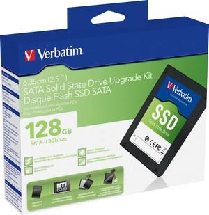 Przyspiesz komputer za pomocą zestawu modernizacyjnego Verbatim z SSD SATA-II