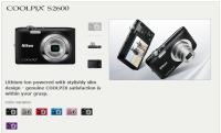 Nikon Coolpix S2600 - cicha premiera